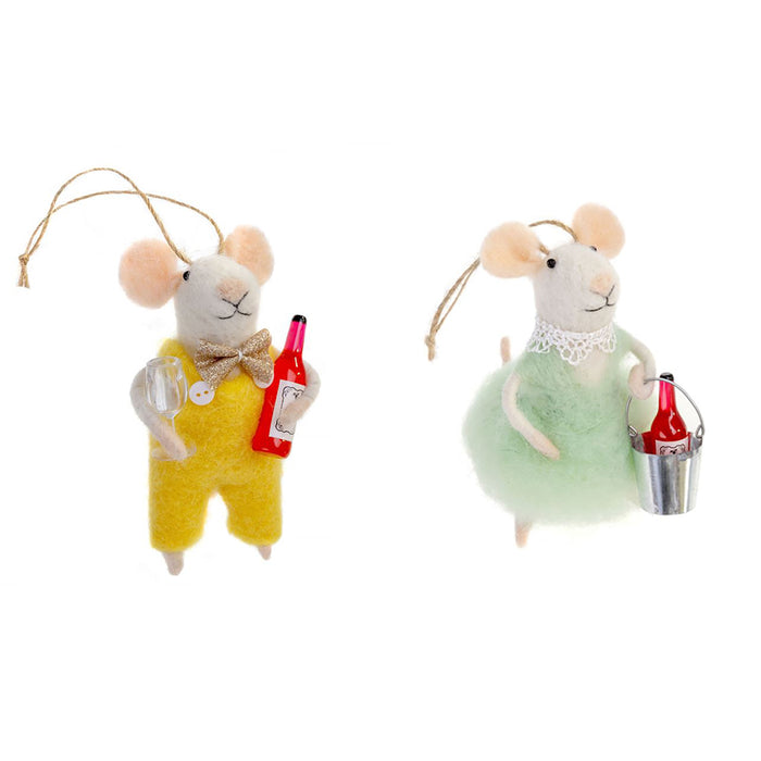 Wino Mouse Ornament