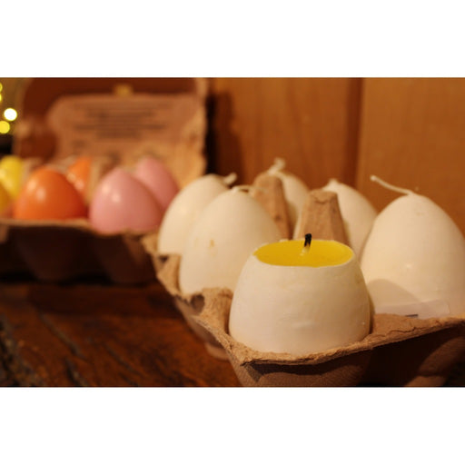Egg With Yolk Candle