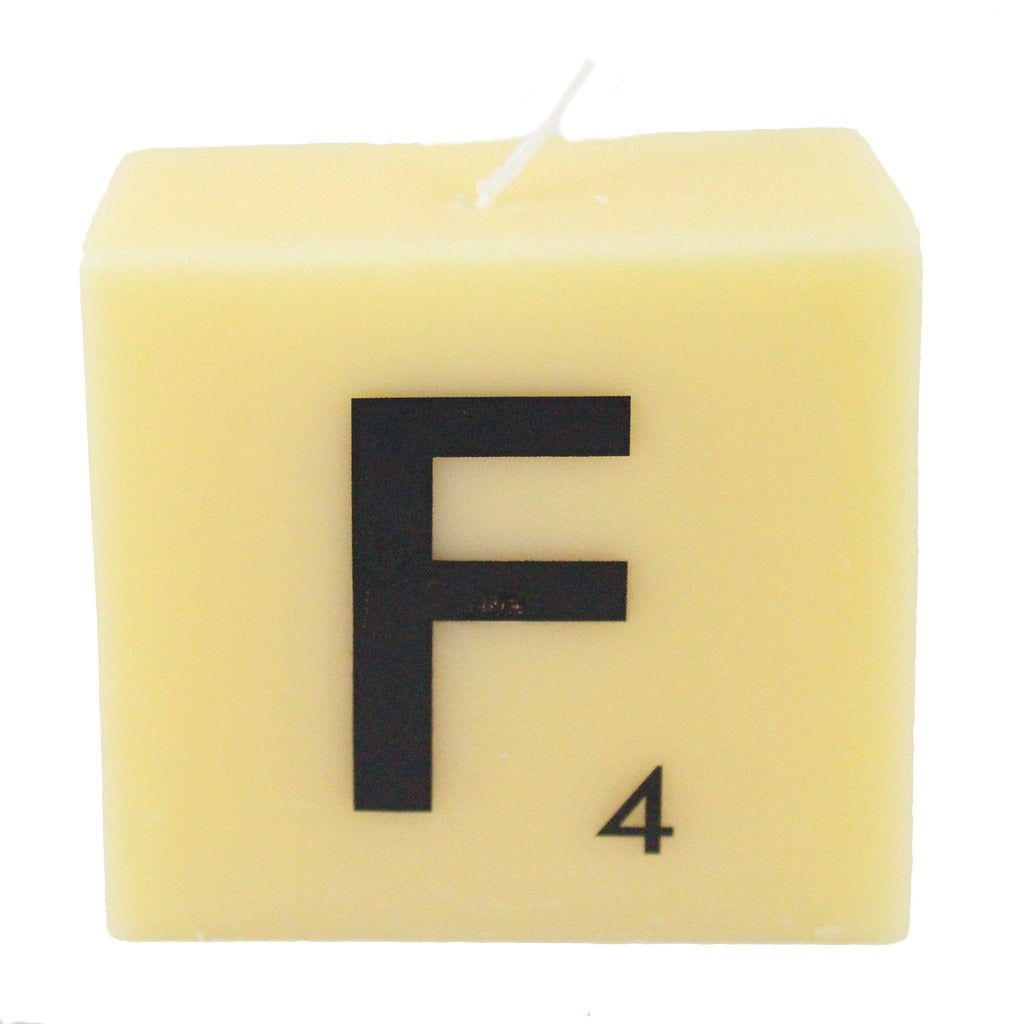 Scrabble Letter Candles – Candlestock