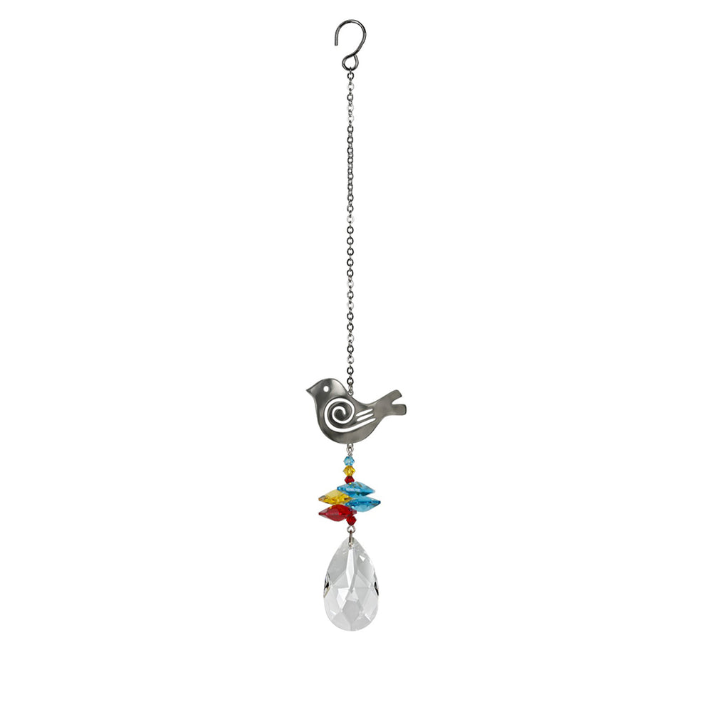 Crystal Fantasy Bird Suncatcher