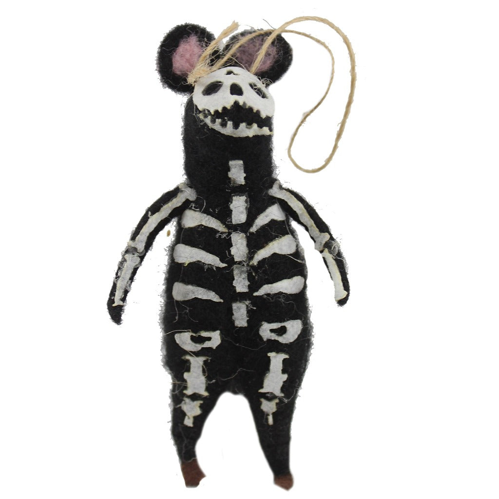 Felt Halloween Mice Ornaments - Candlestock.com