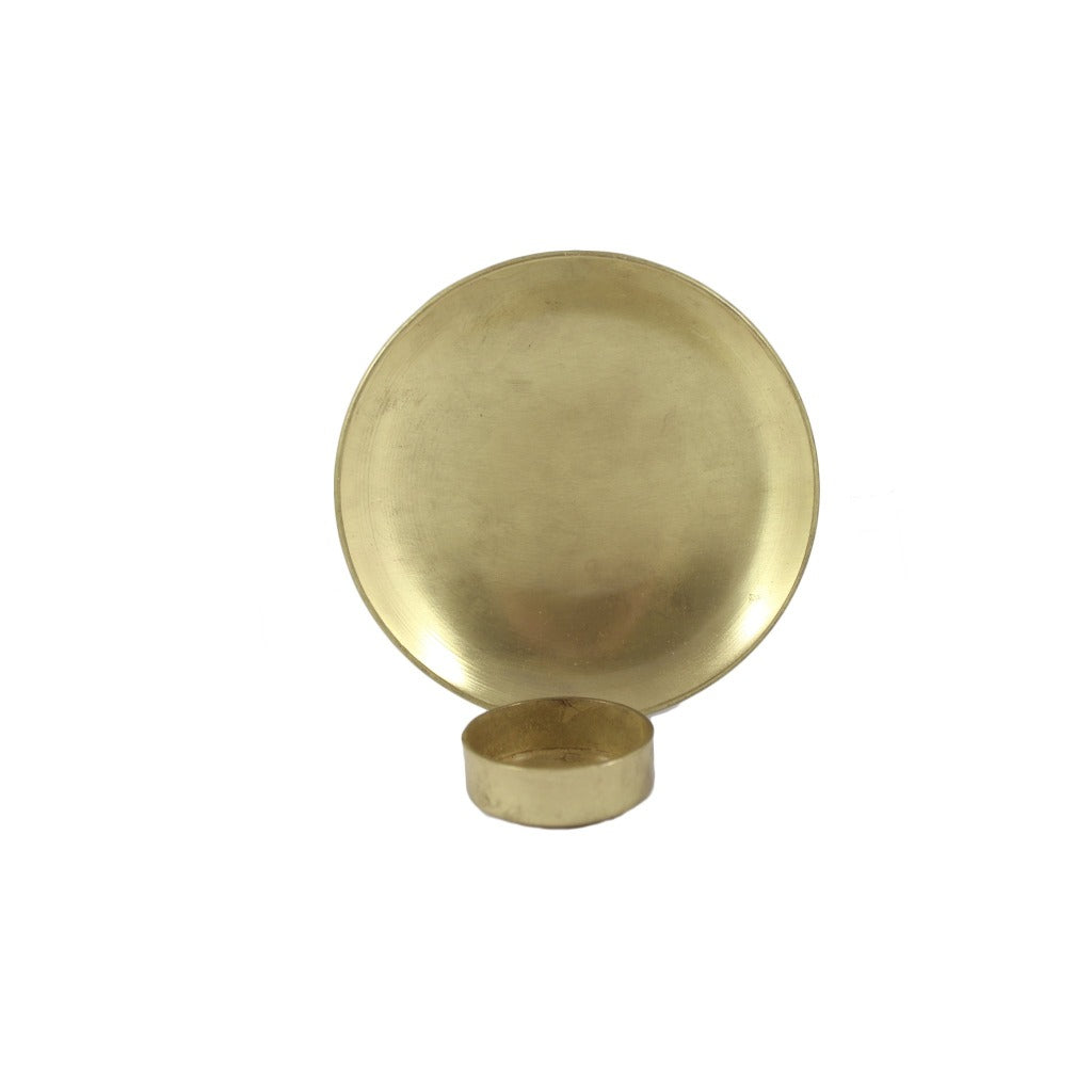 Round metal simplistic tea light candle wall sconce ebay round metal simplistic tea light candle wall sconce aloadofball Images