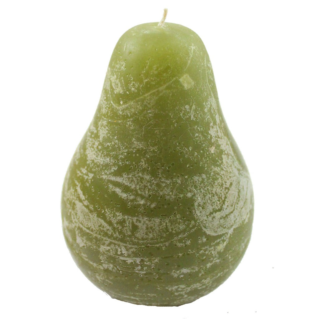 Green Pear Candle - Candlestock.com