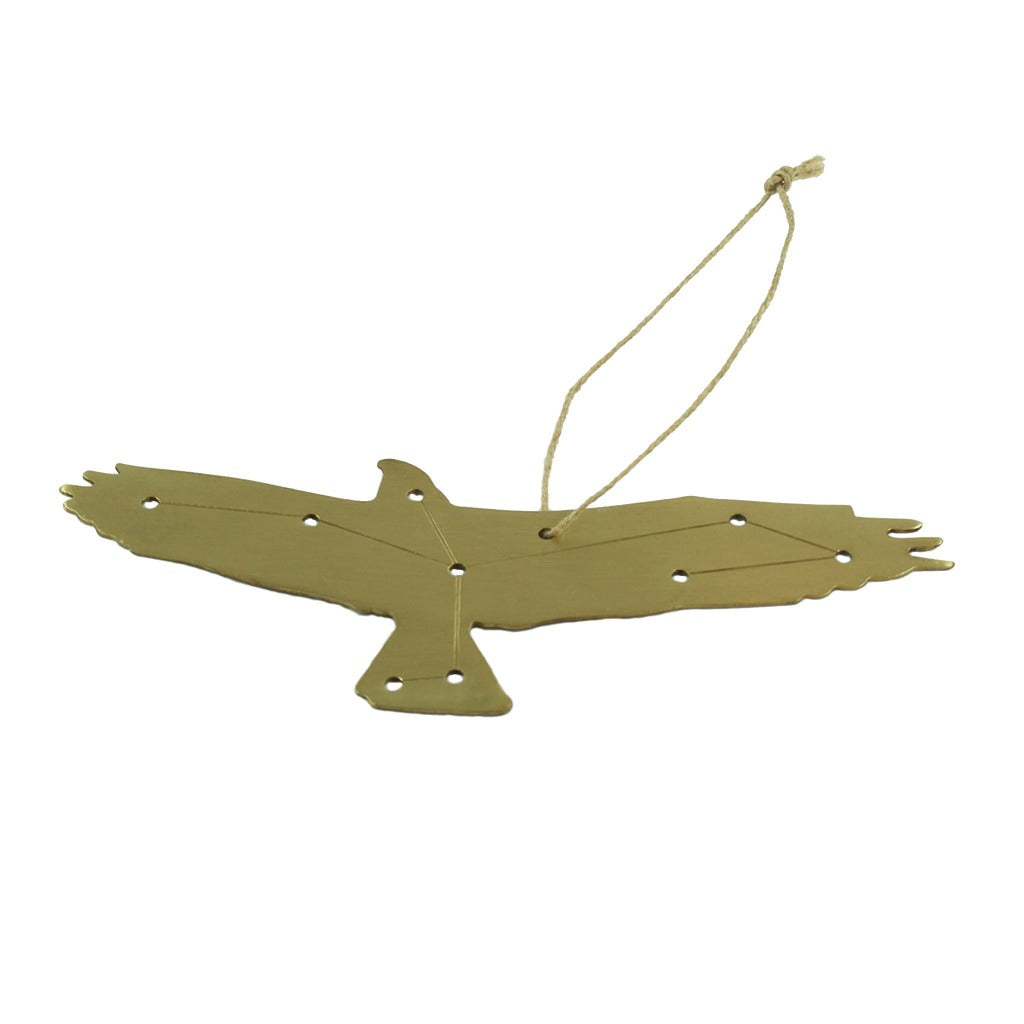 Brass Spirit Animal Ornament