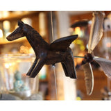 Wooden Animal Hanging Wind Spinners - Candlestock.com
