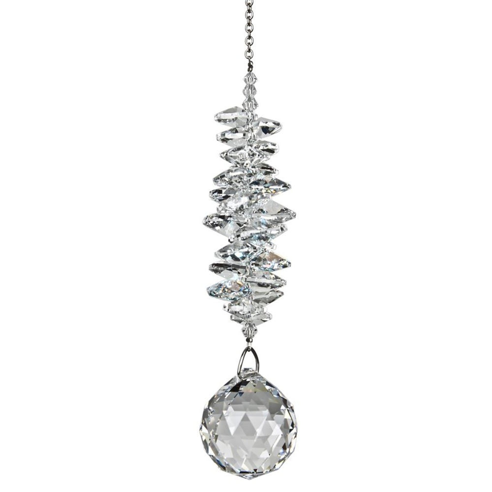 Ice Crystal Grand Cascade Suncatcher