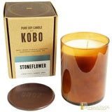 KOBO Woodblock Soy Wax Scented Jar Candles - Candlestock.cm