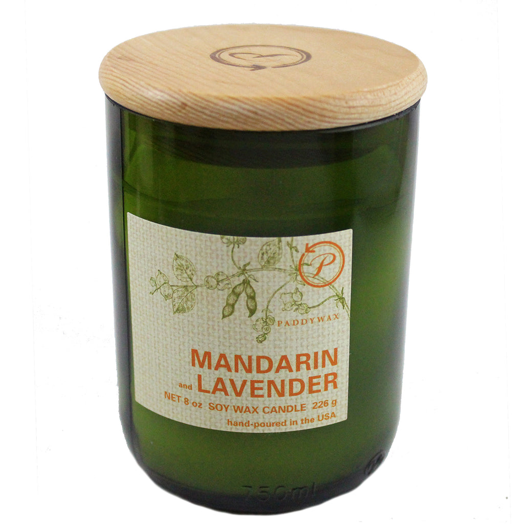 Paddywax Recycled Glass Scented Jar Candle - Candlestock.com