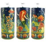 Large Inlay Pillar Candle - Candlestock.com