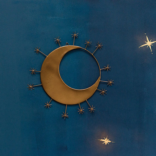 Over The Moon Wall Hanging