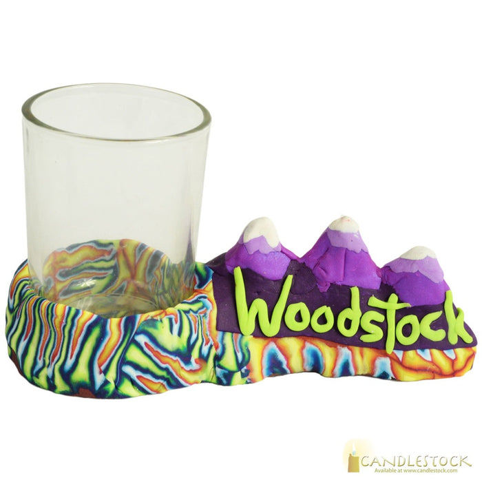 Woodstock Mountains Votive Candle Cup - Candlestock.com