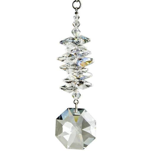 Crystal Ice Cascade Suncatcher - Octagon