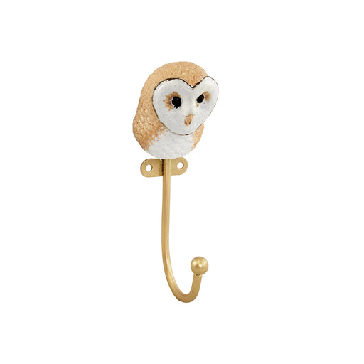 Friendly Owl Wall Hook