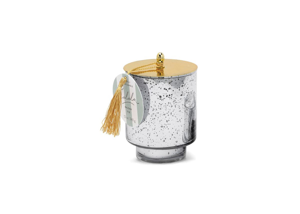 Paddywax Mercury Glass Tinsel Collection