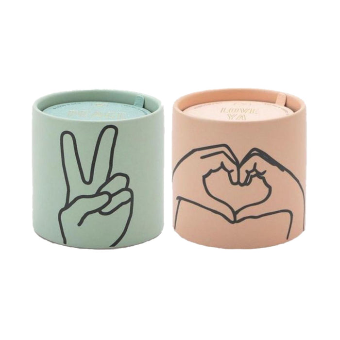 Peace and Love Candles - Paddywax Impressions - Candlestock.com