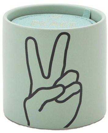 Paddywax Peace & Love Scented Jar Candle Set