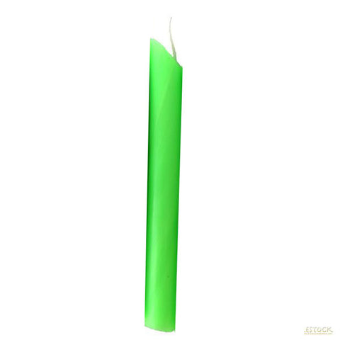 Pastel Green Drip Candle - Candlestock.com
