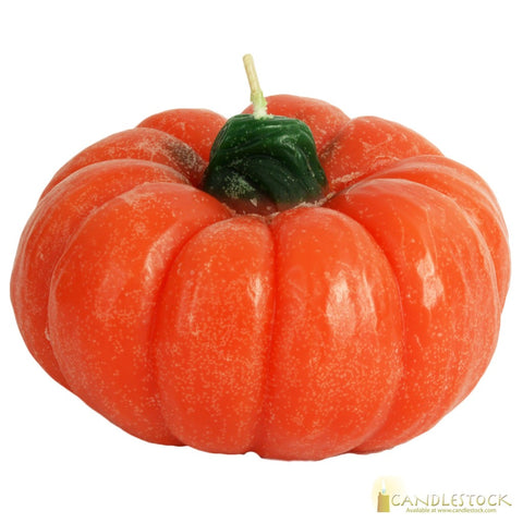Pumpkin Flat Candle In Multiple Sizes
