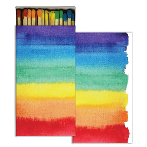 Rainbow Watercolor Matches