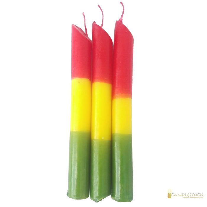 Rasta Drip Candle 25 Pack - Candlestock.com