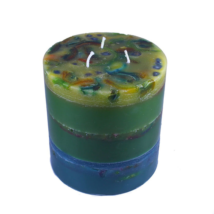 Recycled Wax Modern Art Candle - Candlestock.com