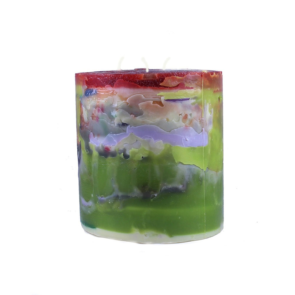 Recycled Wax Pillar Candle - Candlestock.com
