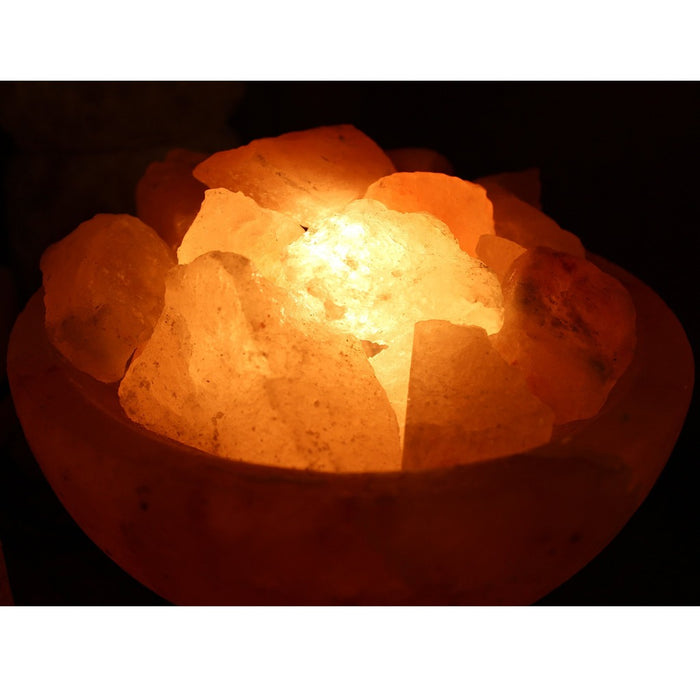 Electric Himalayan Rock Salt Lamp - Candlestock.com
