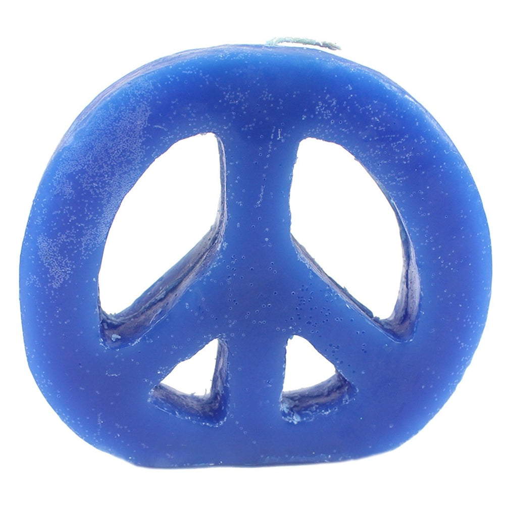 Wholesale peace sign candles. Woodstock candles in bulk. - Candlestock.com