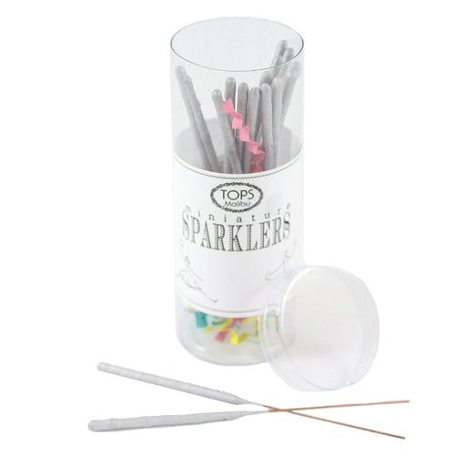 Silver Celebration Sparklers - 4 inches - Candlestock.com