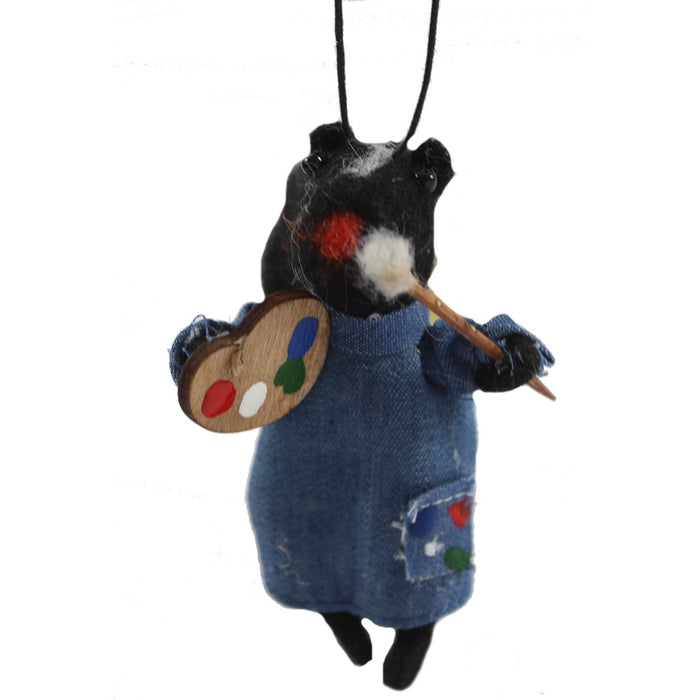 Artsie Skunk Ornament