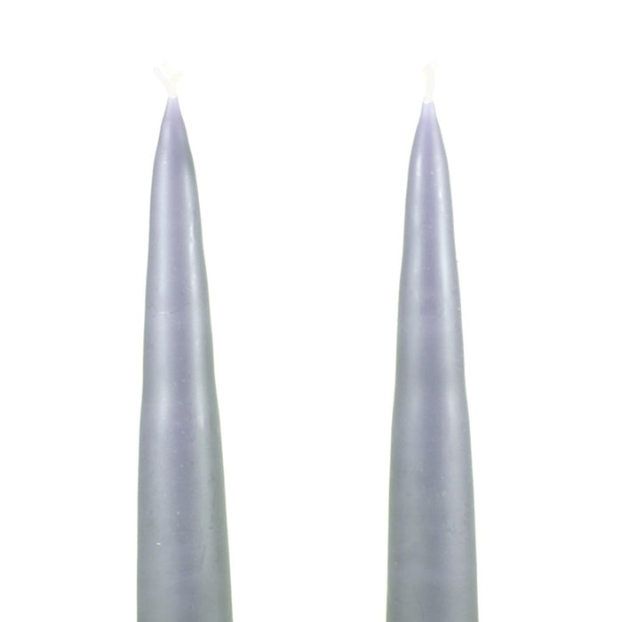 Traditional Danish Style Pointed Taper Candles - 6 Inch
