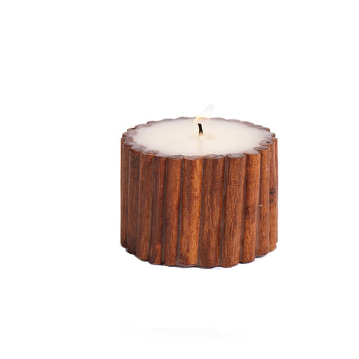 Cinnamon Stick Scented Pillar Candle