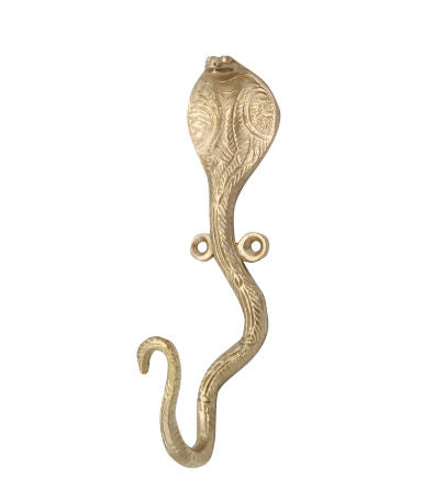 Brass Dakota Snake Wall Hook