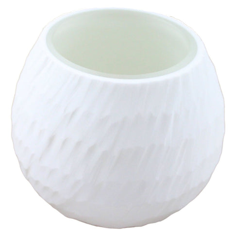 Snowball Glass Tea Light Candle Holder - Candlestock.com