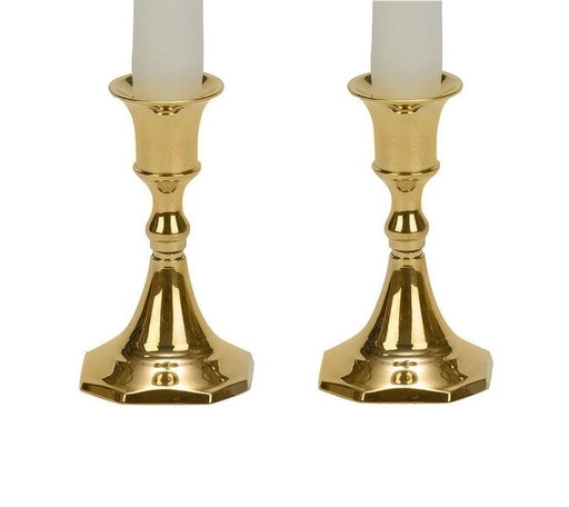 Brass Taper Candle Holder - 3.75 Inches