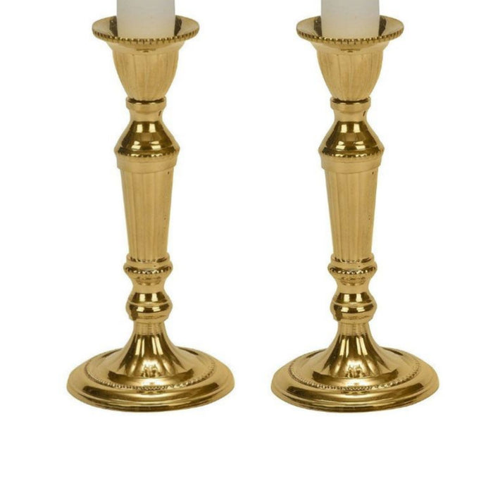 Brass Taper Candle Holder - 5.5 Inches