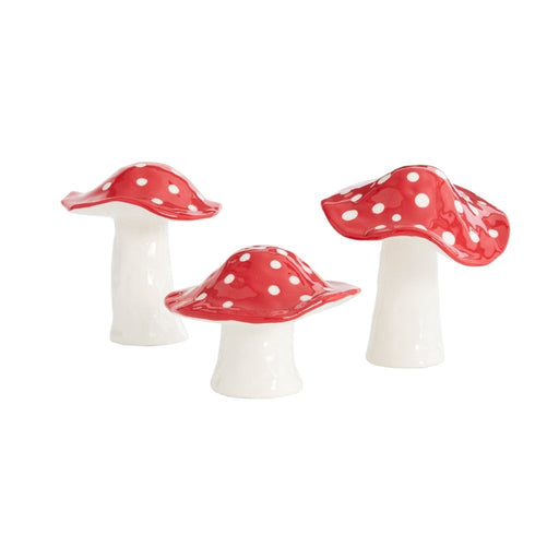 Ceramic Toadstool Figurine