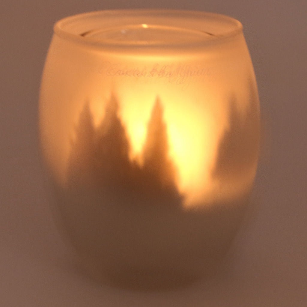 Silhouette Tea Light Candle Holder