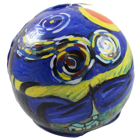 Candlestock Van Glow Starry Night Ball Candle In Multiple Sizes