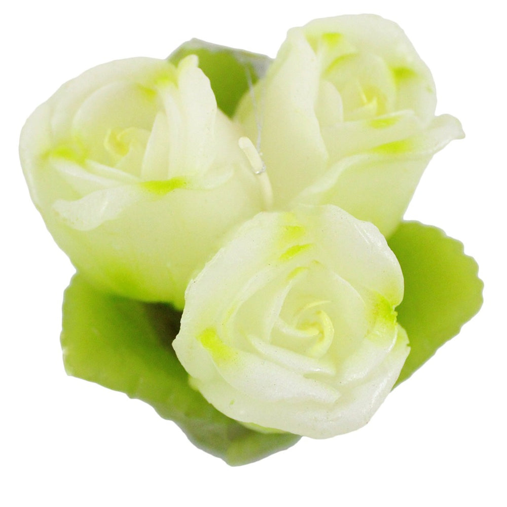 White Rose Bouquet Candle - Candlestock.com