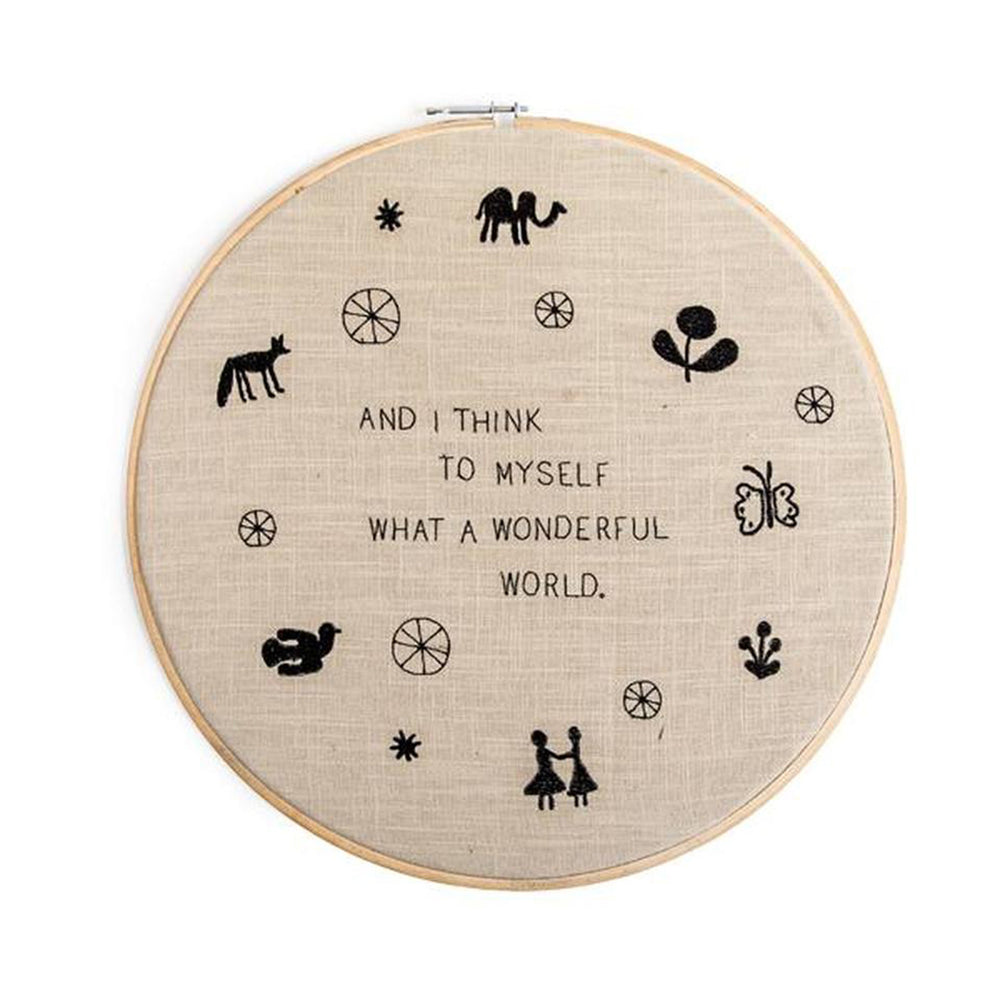Wall Hanging - What A Wonderful World - Candlestock.com