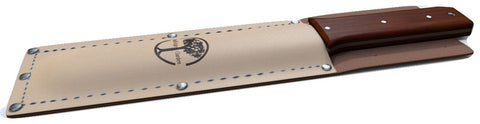 Hori Hori Knife With Leather Sheath By Oakridge Gardens - All Purpose Knife- Lifetime Guarantee