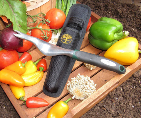 Hand Weeder Tool For Root Removal With Nylon Sheath Cushioned Grip