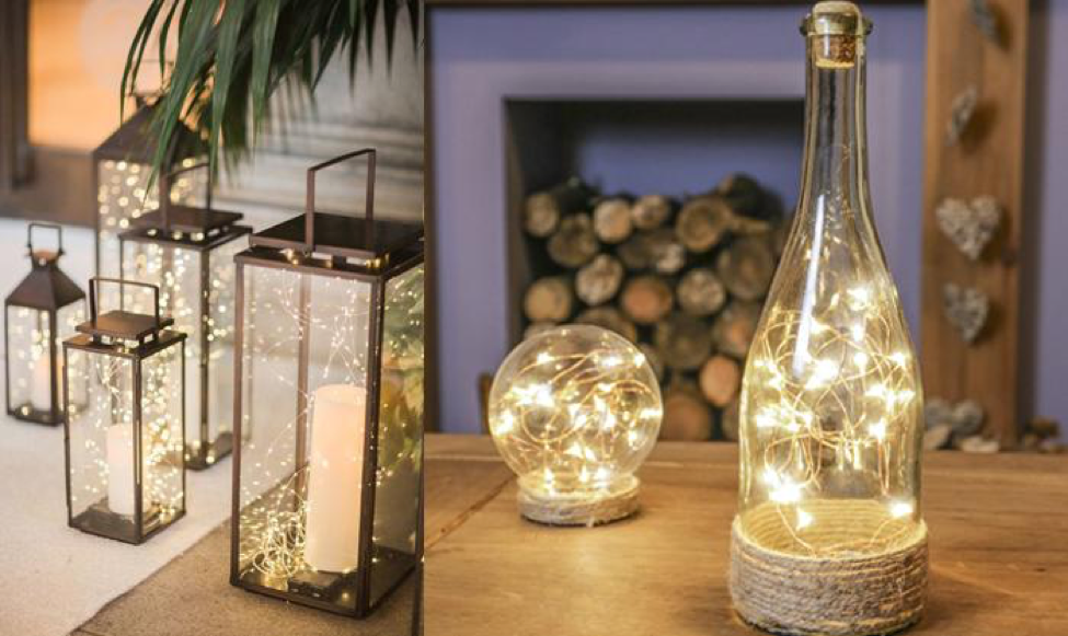 10 Creative Ideas With Copper Wire Lights Next Deal Shop