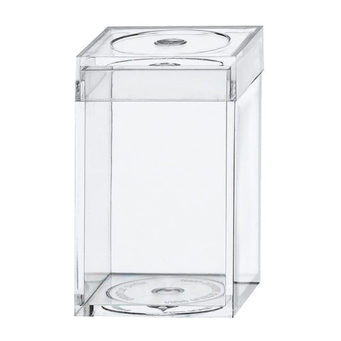 751C Flat Top Box, Crystal