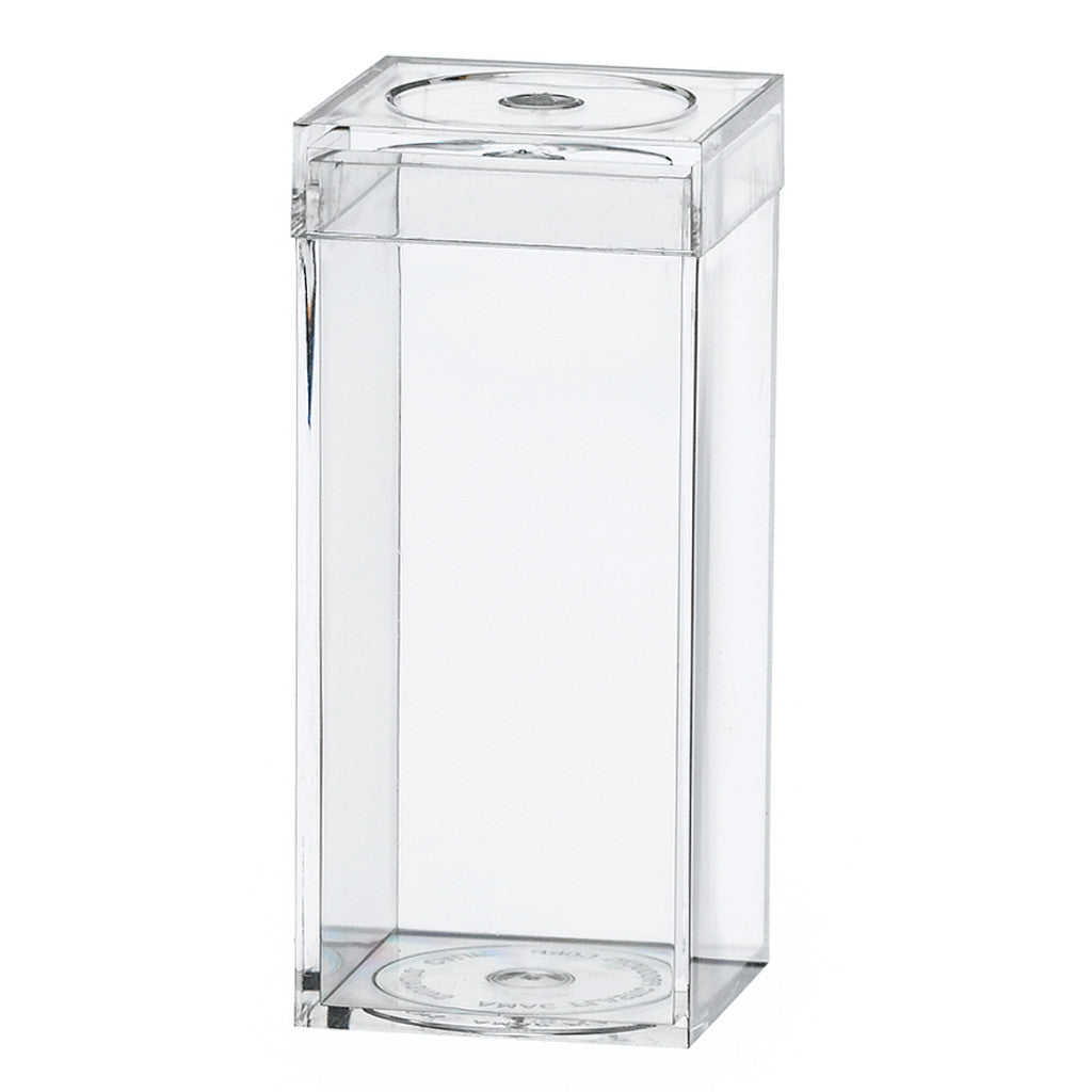 752C Flat Top Box, Crystal