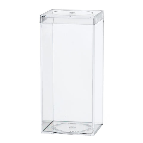 762C Flat Top Box, Crystal