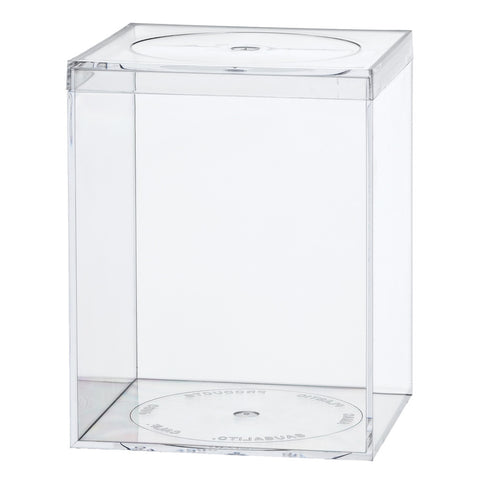 763C Flat Top Box, Crystal