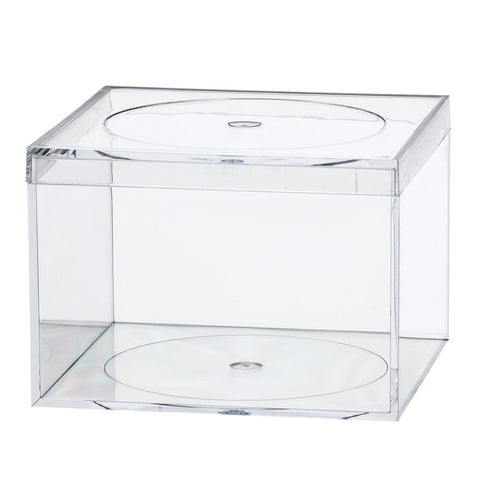 764C Flat Top Box, Crystal