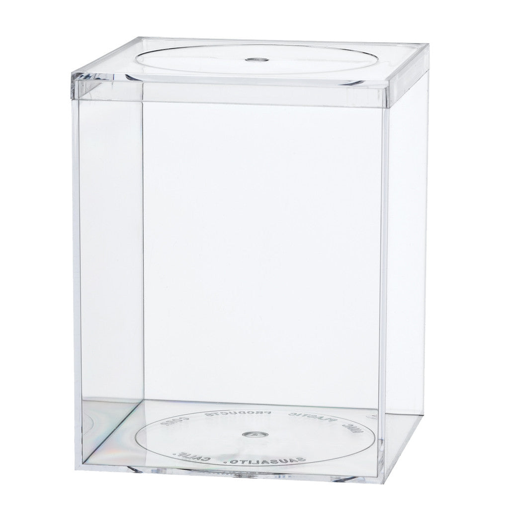 765C Flat Top Box, Crystal